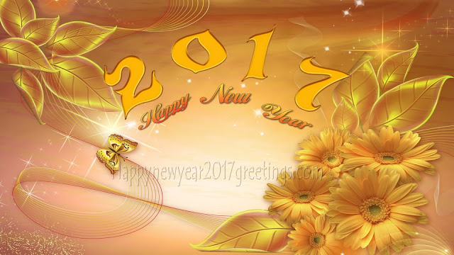New Year 2017 Golden Wallpapers Download Free