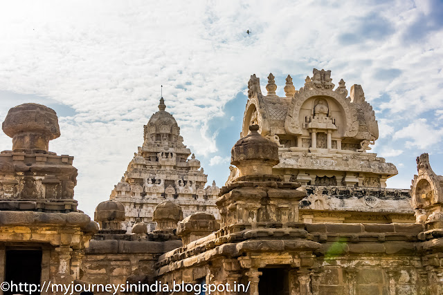 Kanchipuram Kailasanathar Temple View