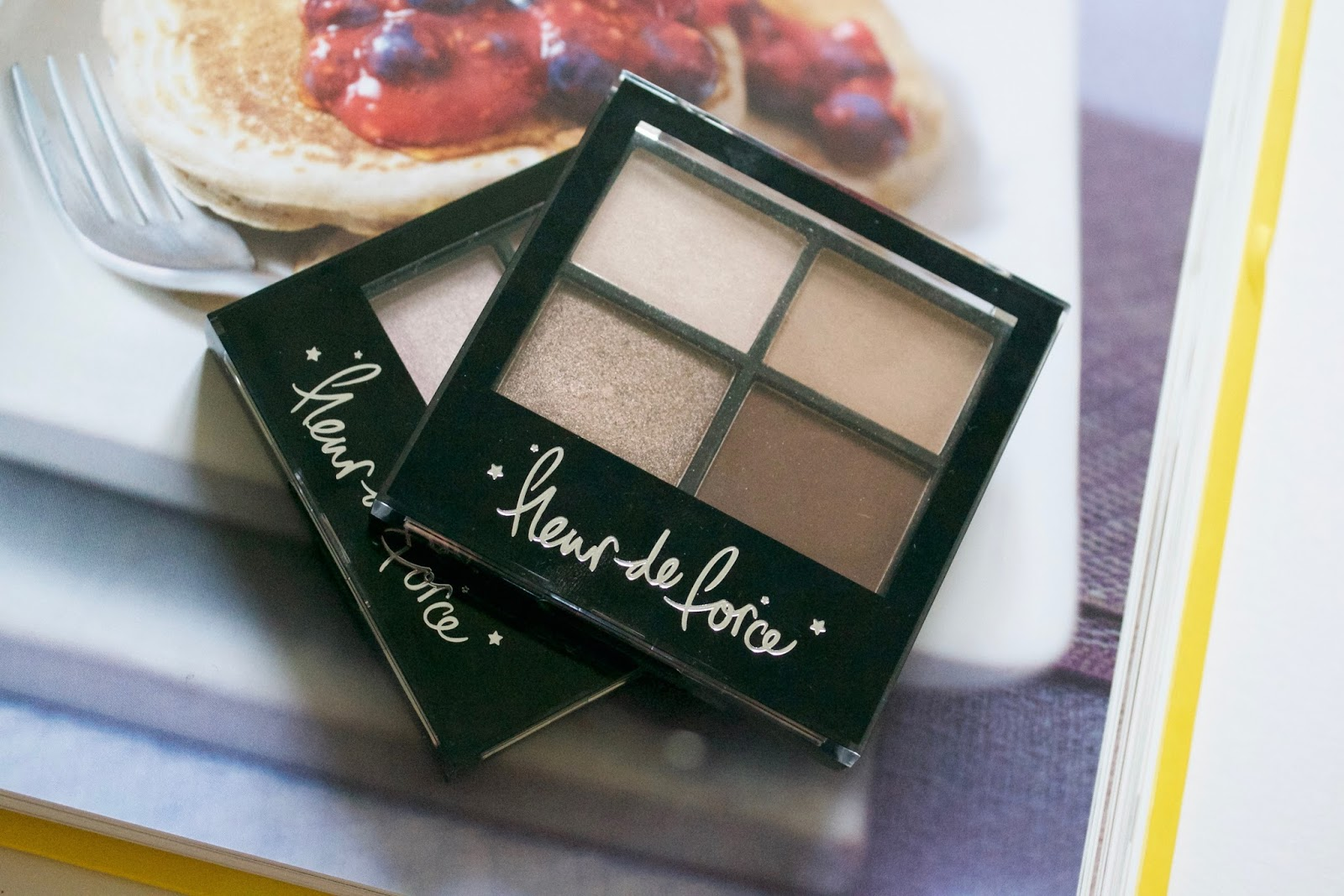 Fleur de Force Eyeshadow Quad Review Swatch - Aspiring Londoner