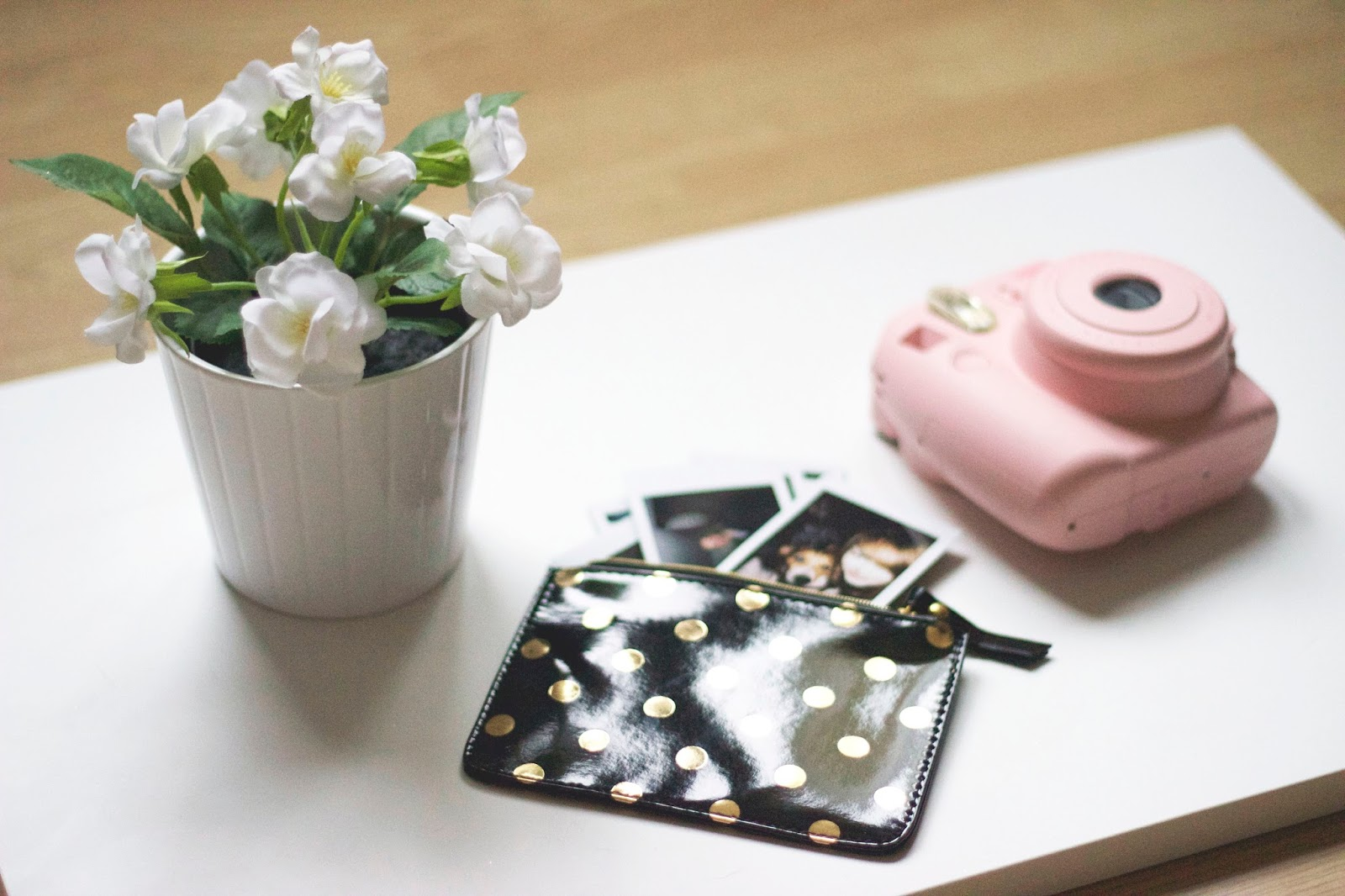 How to take blog photos, flatlay photo