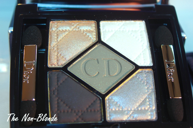 b0025890 Dior Royal Khaki 454 5-Colour Eyeshadow Palette   The Non-Blonde