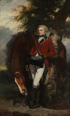 Portrait of Colonel George K. H. Coussmaker of the Grenadier Guards by Joshua Reynolds