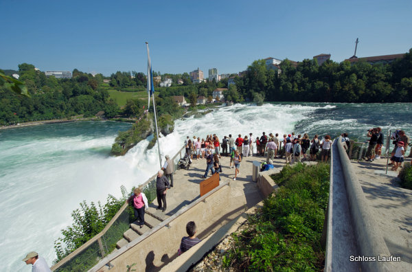 Paseo Belvedere (Rheinfall, Suiza)