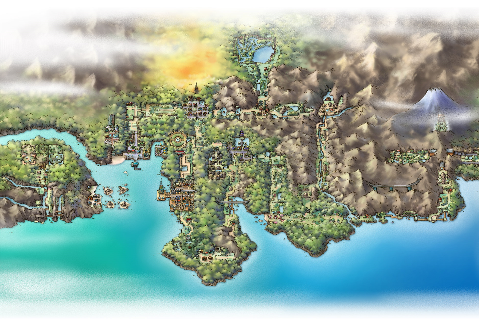 The Joel MH: Pokemon Regions in the real world