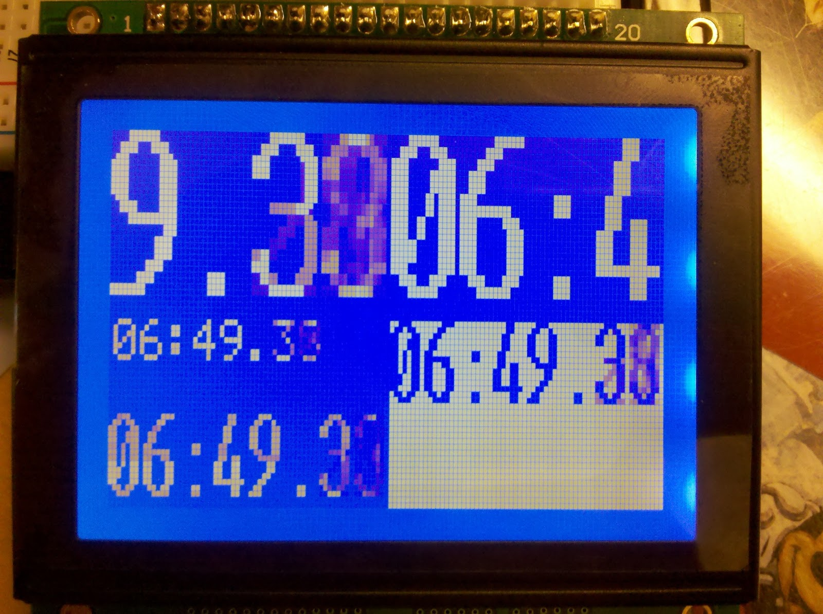 Graphic LCD Module | The Mind of a Mad Scientist