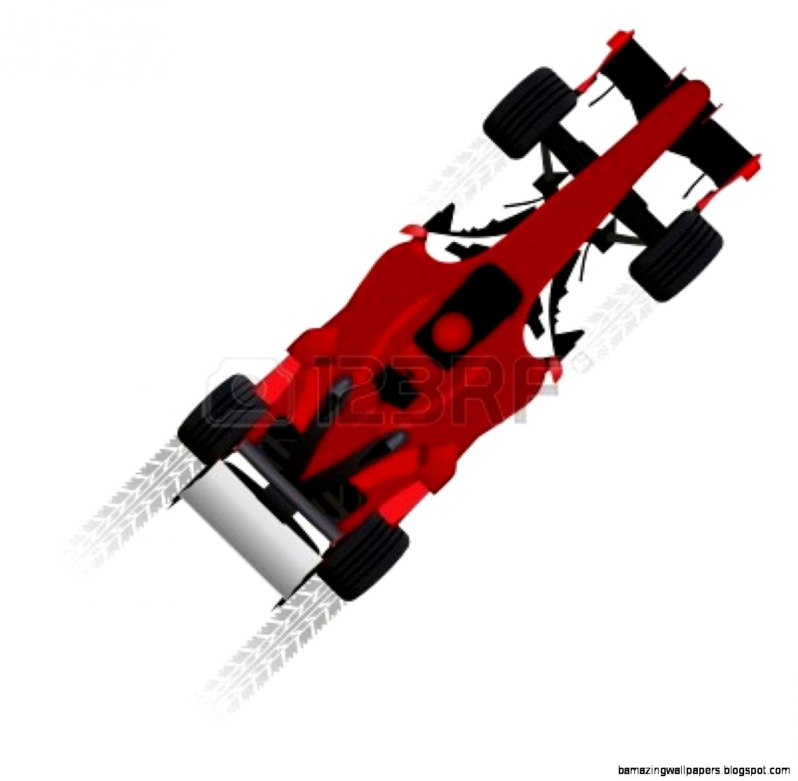 Formula One Race Car Side View Amazing Wallpapers