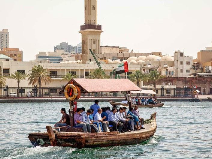 Abra (Water Taxi) - Umroh Plus Dubai Baitussalam