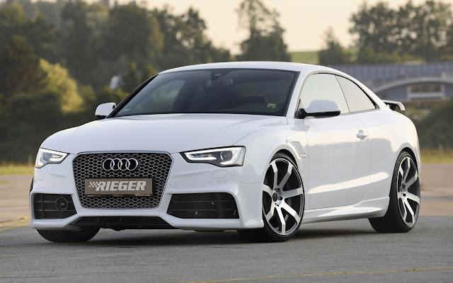 Walpaper mobil Audi putih