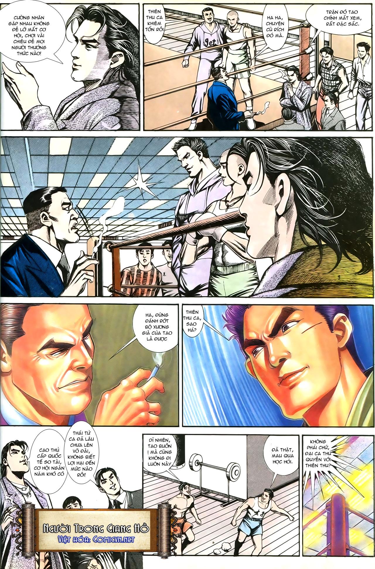 Người Trong Giang Hồ chapter 193: mưu kế đầy bụng trang 7