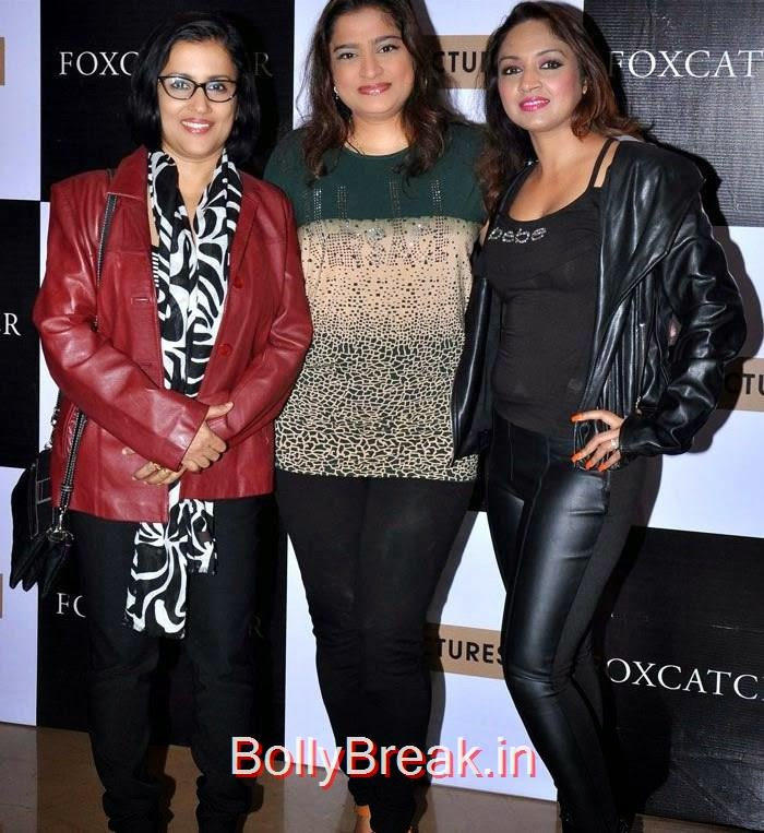 "Madhushree, Ekta Jain, Marisa Verma, Komal Jha, Yuvika Chowdary At ""Foxcatcher"" Premiere"