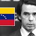 Aznar reconoce el golpe de Estado de Guaidó en Venezuela y pide apoyo internacional
