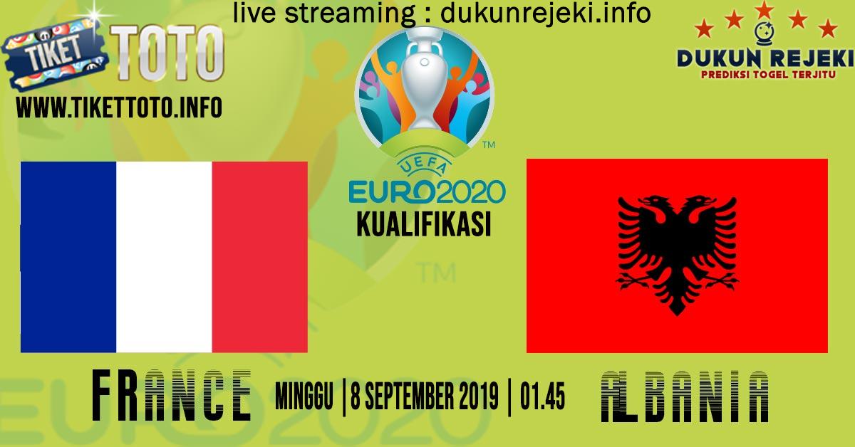 Prediksi Pertandingan France Vs Albania 8 September 2019