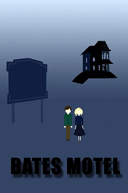 Bates Motel Minimalist poster