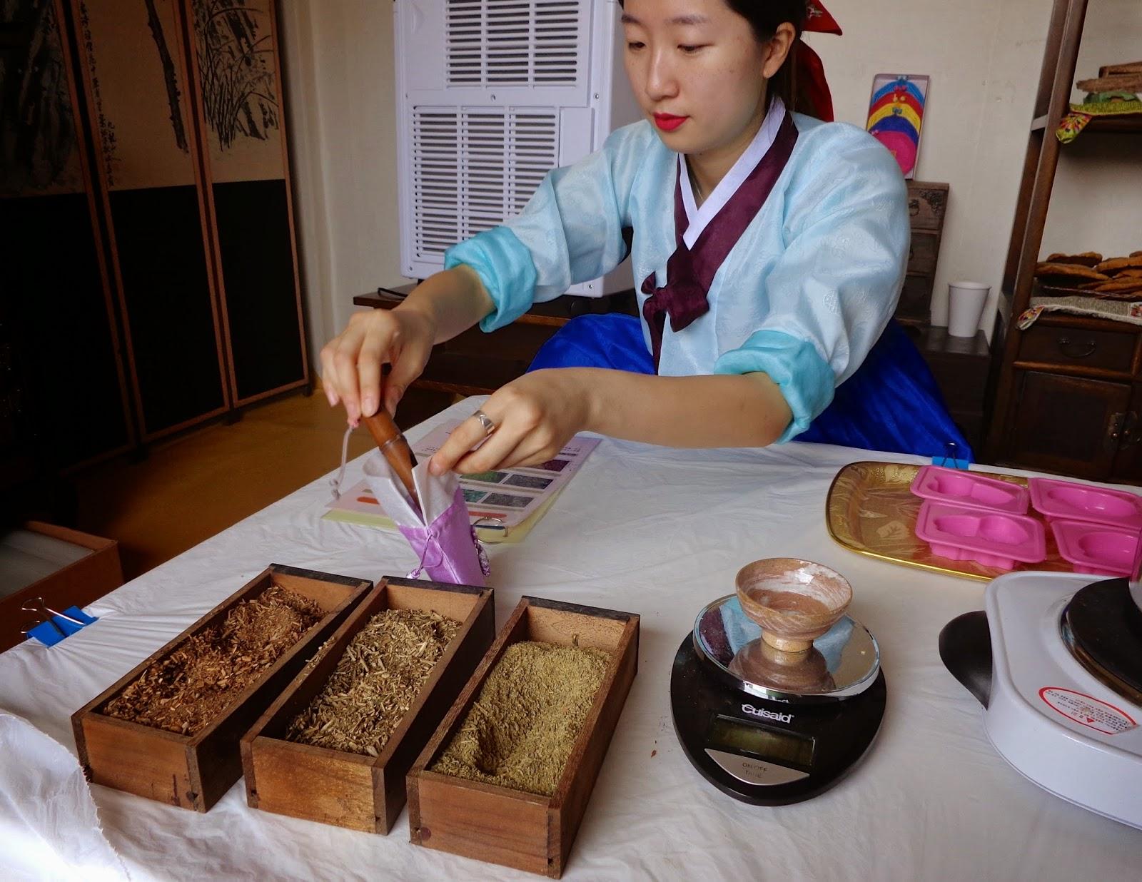 Korean Eastern Medicine Aromatherapy Herbal Pouch