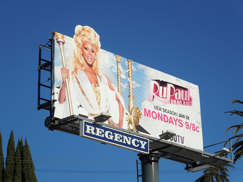RuPauls Drag Race season 5 billboard