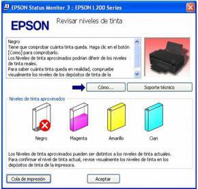 Como Poner Los C 243 Digos De Tinta A Impresoras Epson Es