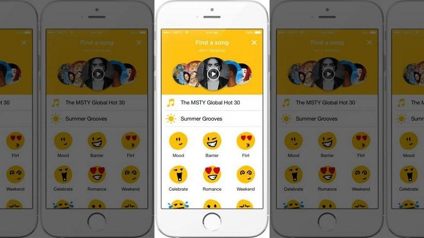 Baru Aplikasi MSTY Memungkinkan Anda mengirim Musik melalui Pesan ke Teman Anda