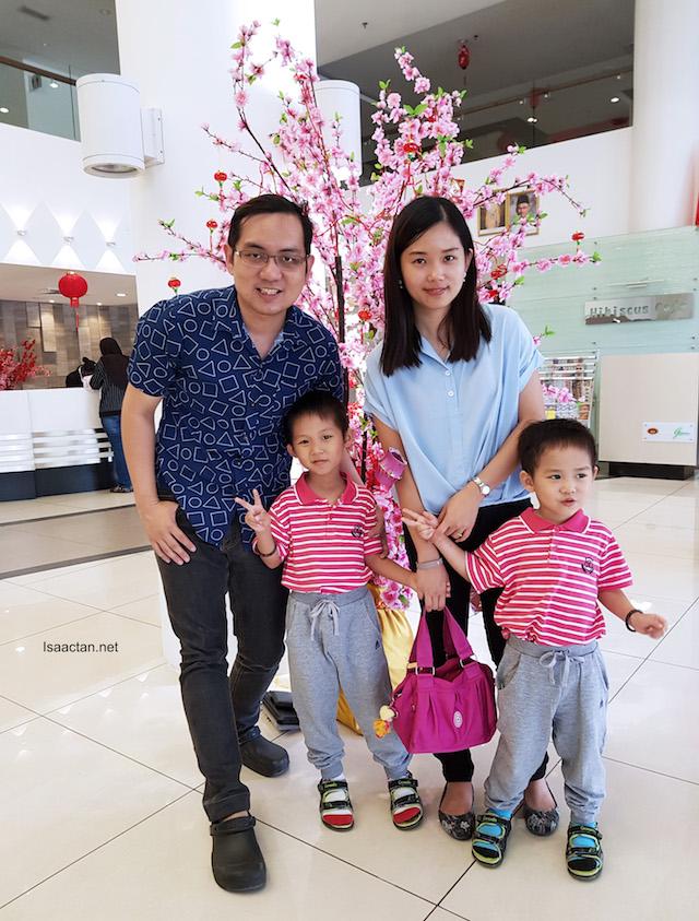 ISAAC TAN family