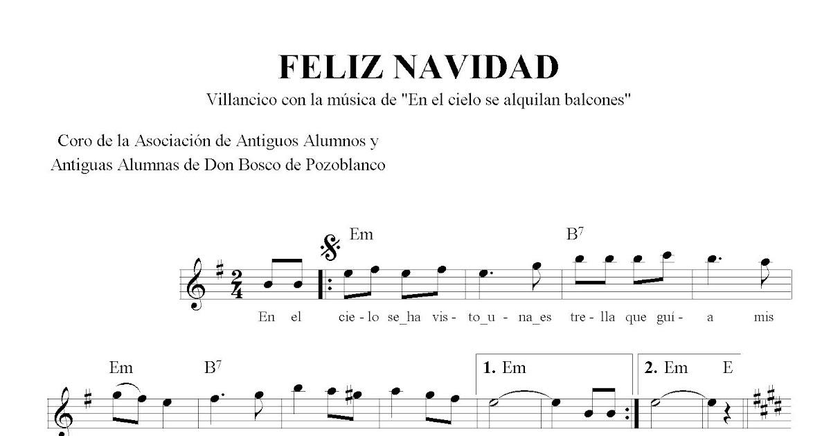 Villancico Feliz Navidad A Todos.Feliz Navidad En El Cielo Se Alquilan Coro De La