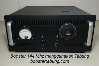 Boster 144 Mhz menggunakan teknologi Tabung
