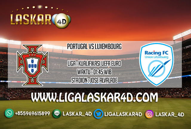 Prediksi Pertandingan Portugal Vs Luxembourg 12 Oktober 2019
