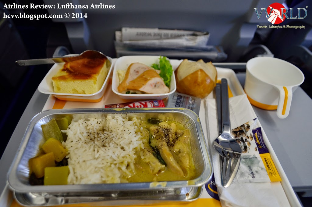 Flight Experience Lufthansa Airlines Review  HCVVORLD