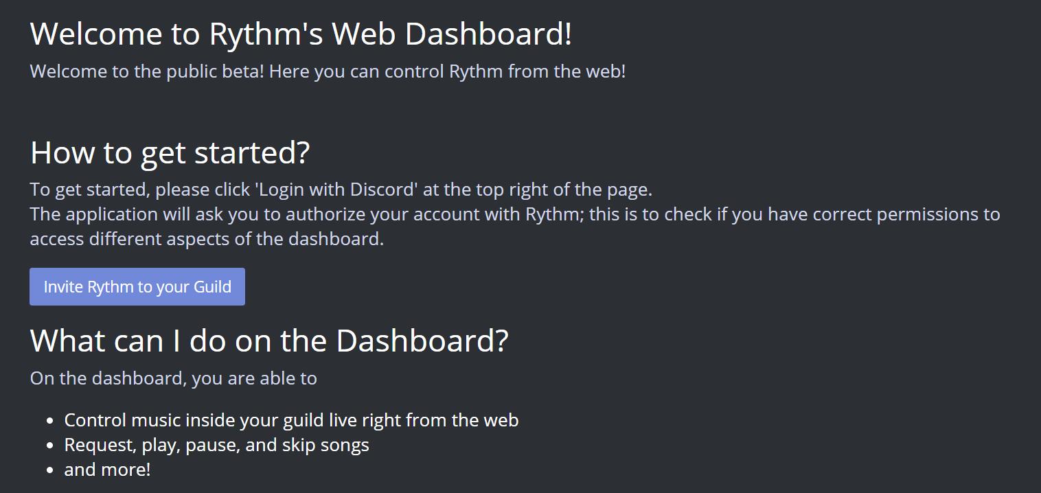 Your Recreational Blog: Rythm bot for discord