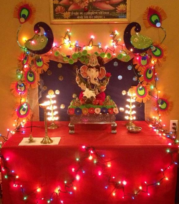 Ganesh Chaturthi Decoration Ideas 2016 Home Decoration Murti