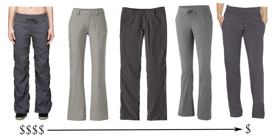 quick dry travel pants