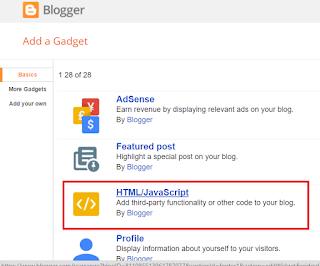 كيفية عرض ترتيب اليكسا في مدونة بلوجر؟