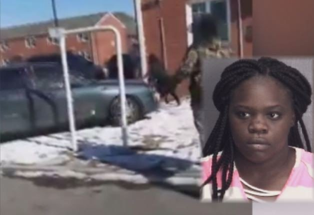Jealous lady arrested for deliberately running over her man's 'mistress' & the vile attack was captured on live video  (Watch)