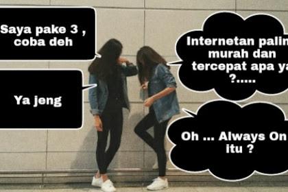 Harga Paket Murah Internet Kartu 3 Tri Terbaru