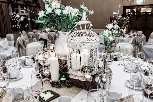 Romantic and Magical Winter Vintage Wedding Ideas