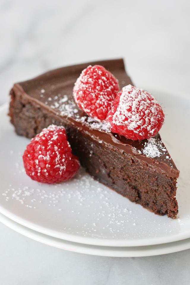 Epicurious Flourless Chocolate Cake