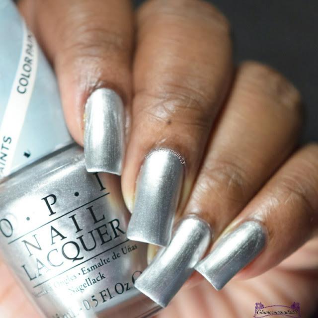 O.P.I Silver Canvas