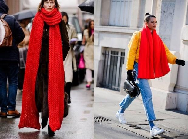 Big Fashion Scarf Winter 2019