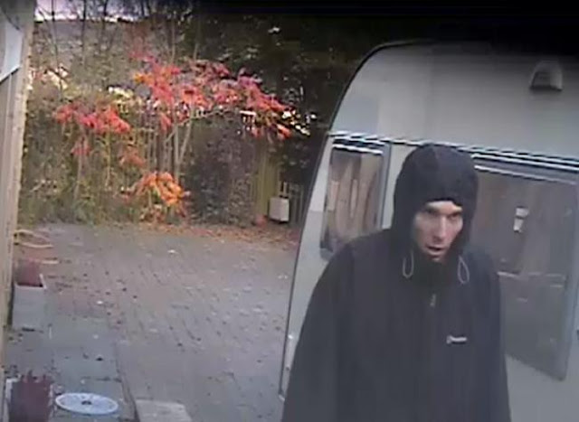 CCTV: Police appeal for help to trace man seen snooping around village homes