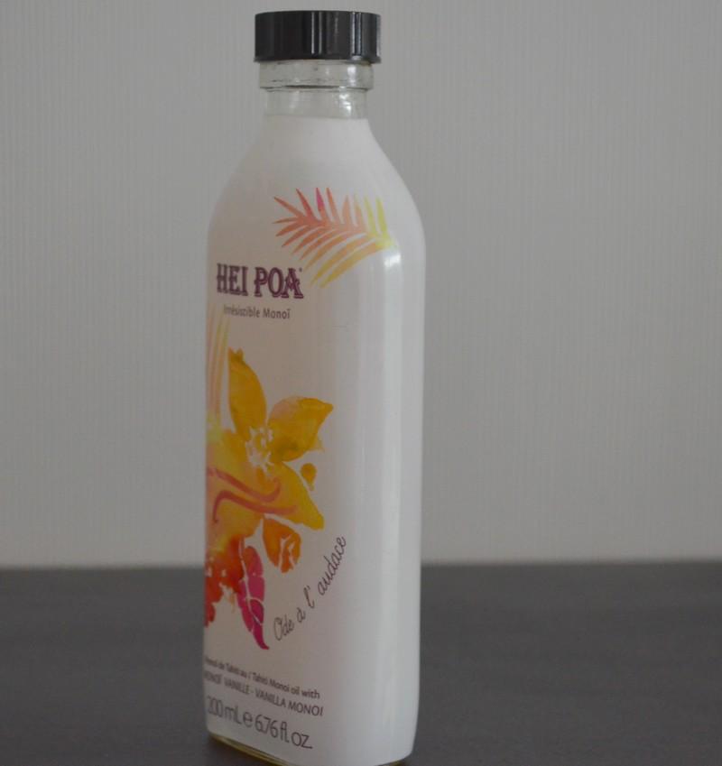HEI POA, le secret de beauté des Tahitiennes , huile monoi