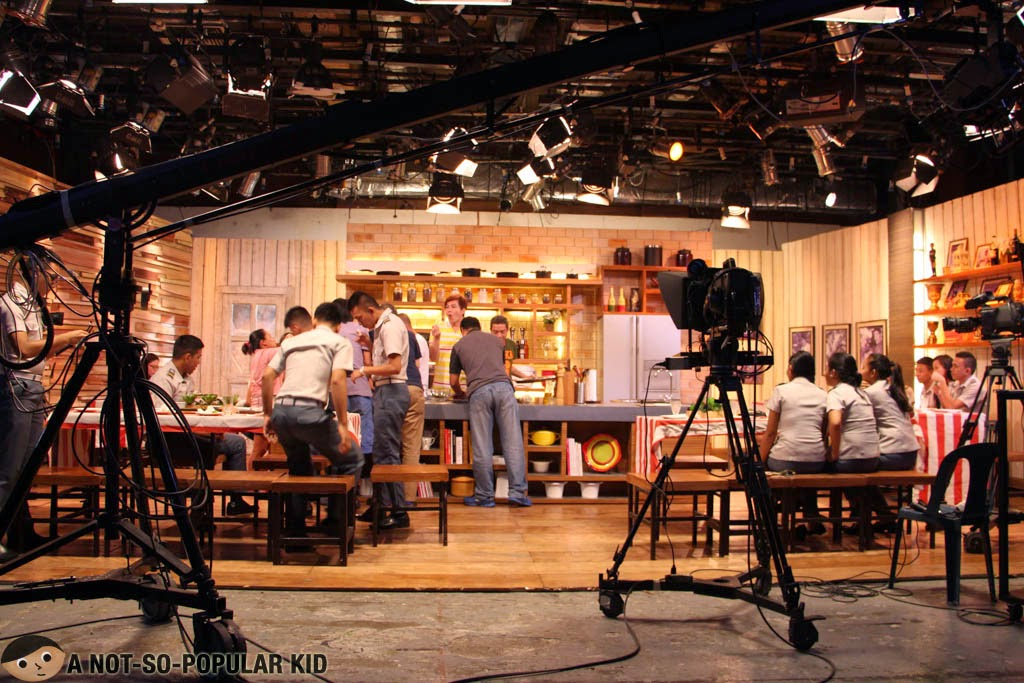The set of Idol Sa Kusina