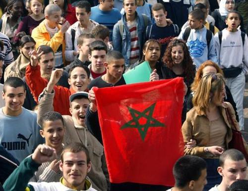 Les Marocains ont répondu pour leur roi et ont fait passer un message au monde.