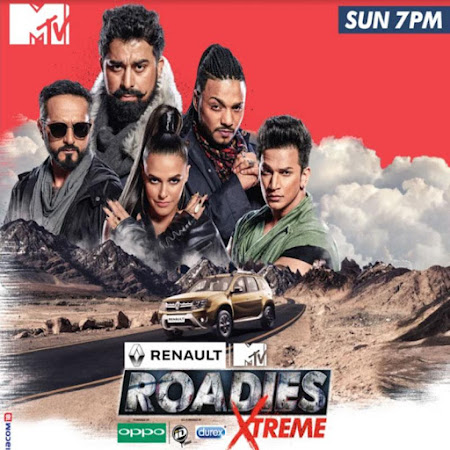 Poster Of MTV Roadies Xtreme Season 4 8th April 2018 Watch Online Free Download