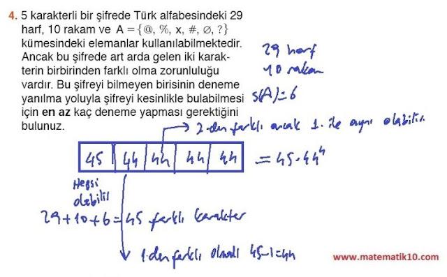 10. Sınıf MEB Yayınları Matematik 24. Sayfa Cevapları