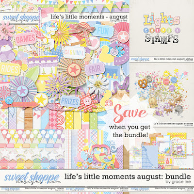 Life's Little Moments August: Bundle