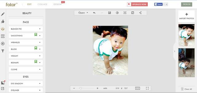 Fotor Editor Online / Web