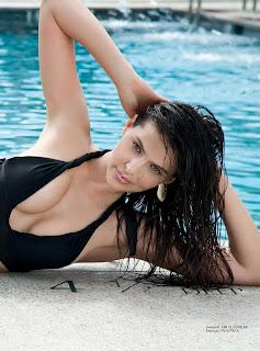 Hana Nitsche amazing swiss beauty Sexy Huge Boobs Cleavages Lovely Ass Maxim Switzerland 2016