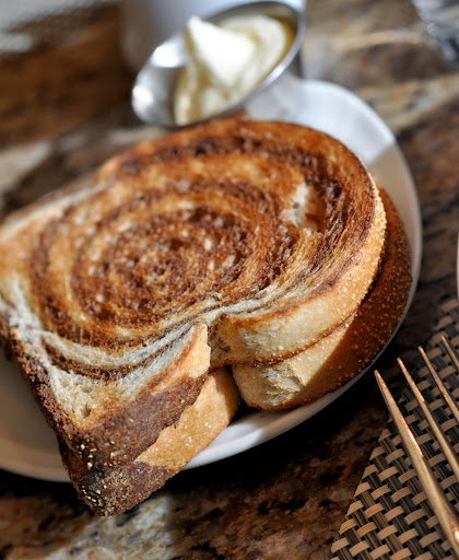 Rye Toast - Raffles Café - Mandalay Bay - Las Vegas, NV | Taste As You Go