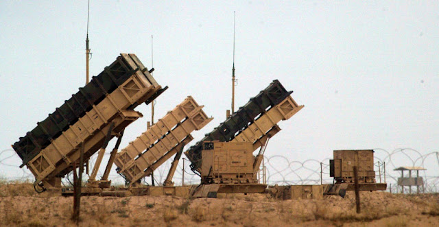 ... four Patriot missile batteries to protect itself and Israel from Syria