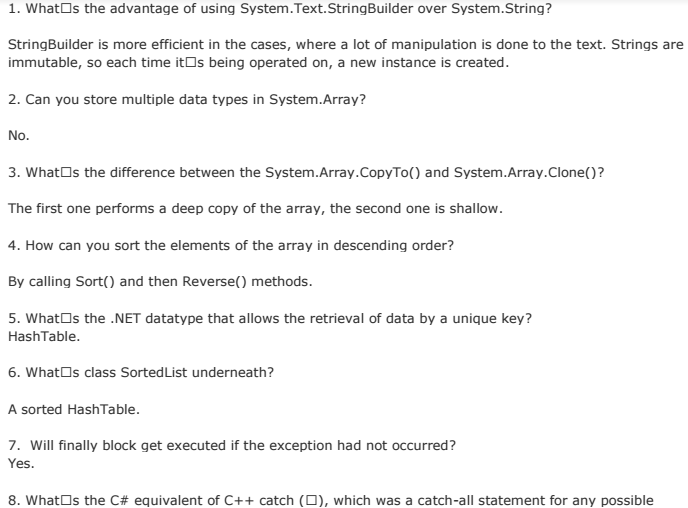 C Faqs With Answers Pdf