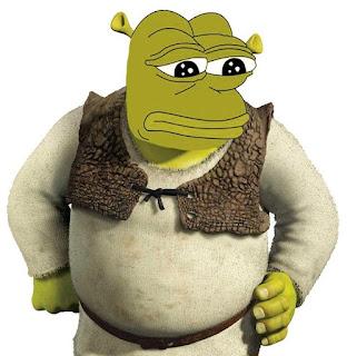 Shrek Pepe Style
