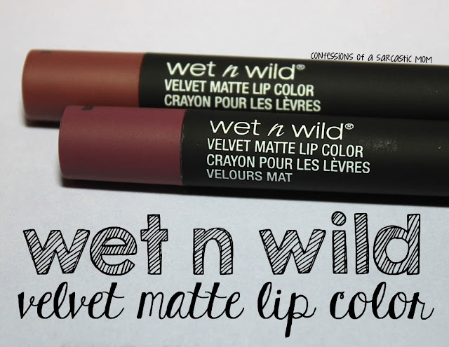 Wet n Wild Velvet Matte Lip Color Crayons